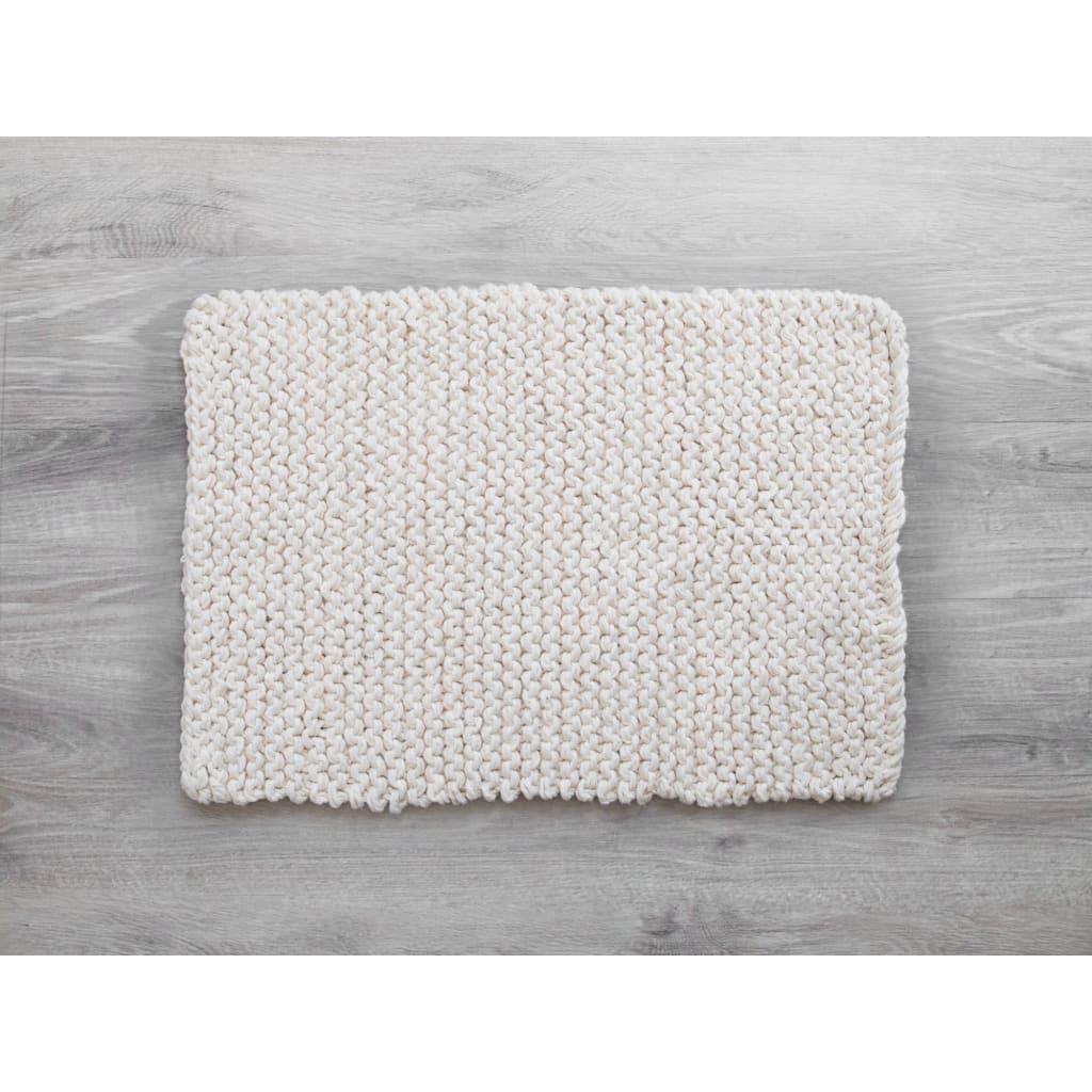 Amelia Jackson Chunky Knit Bath Mat Yuppiechef