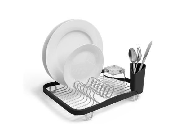 Umbra Sinkin Dish Rack, White