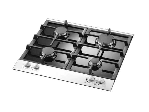 1bd48b81b0 Faber Built In Stainless Steel and Glass 4 Burner Gas Hob 60cm ...