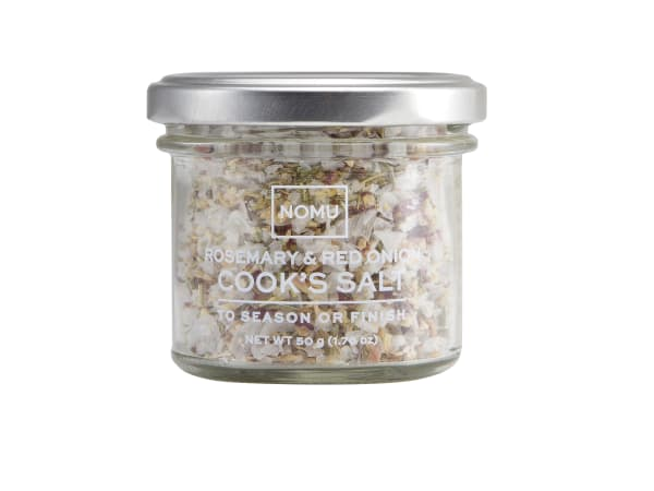 NOMU Rosemary and Red Onion Cook's Salt, 50g