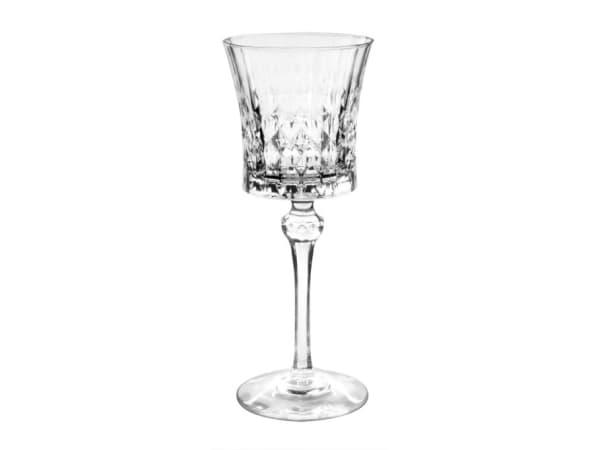 Cristal Darques Lady Diamond.Eclat Cristal D Arques Paris Lady Diamond Stemmed White Wine Glasses Set Of 6