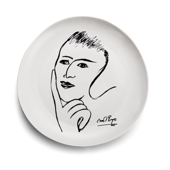 Carrol Boyes face platter