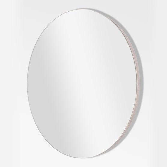 Native Decor Birch Round Frameless Mirror Yuppiechef