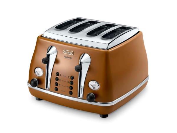 DeLonghi Icona Vintage 4 Slice Toaster Yuppiechef