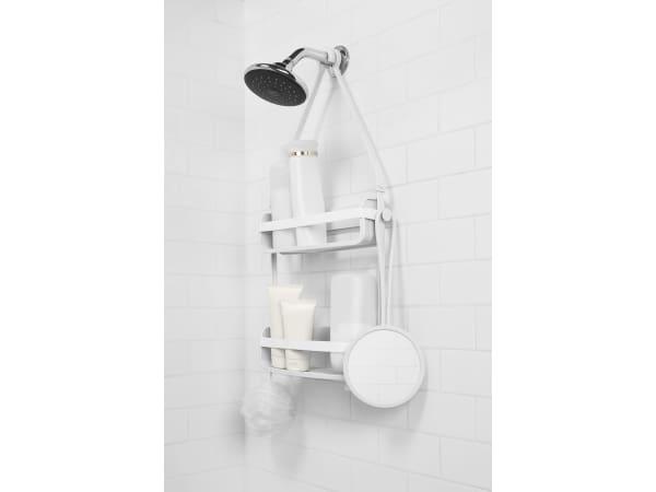 Umbra Flex Hanging Shower Mirror Umb023463660 White