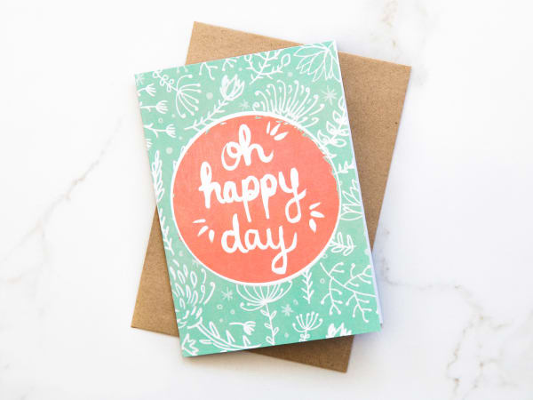 Yuppiechef greeting cards illustrated oh happy day greeting card videos m4hsunfo
