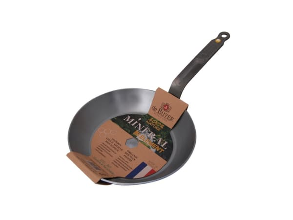 De Buyer Mineral B Element Steel Frying Pan - Yuppiechef