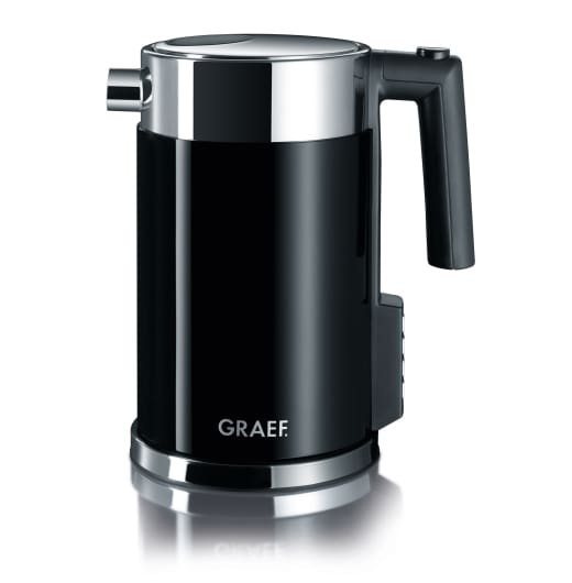 graef variable temperature electric kettle 1 5 litre. Black Bedroom Furniture Sets. Home Design Ideas