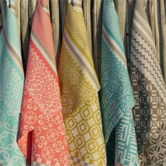 African Jacquard Penta Summer Tea Towel