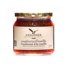 Chaloner Raspberry and Vanilla Jam, 300g