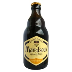 League of Beers Maredsous Blonde Ale