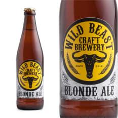 League of Beers Wild Beast Blonde Ale