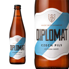 League of Beers Citizen Diplomat Czech Pilsner