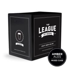 League of Beers Amber Ale Mixed Case