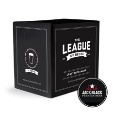 League of Beers Jack Black's Mixed Case