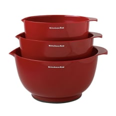 KitchenAid Mixing Bowls, Set of 3