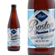 League of Beers Boston Breweries Premium Lager