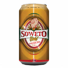 League of Beers Soweto Gold Superior Lager