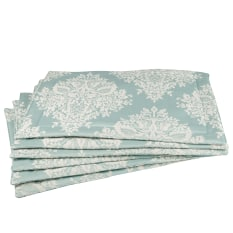 Balducci Palace Damask Placemats, Set of 6