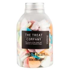 The Treat Company Sweet Heart Mottos Jar, 285g