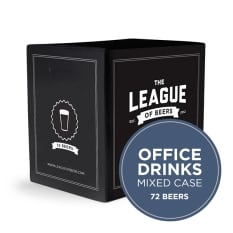 League of Beers Office Drinks Mixed Case