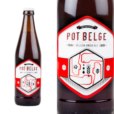 League of Beers Woodstock Brewery Pot Belge Amber Ale