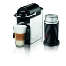 Nespresso Pixie Clips Automatic Espresso Machine with Aeroccino Milk Frother