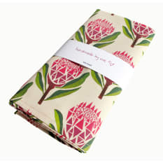 Handmade by me Botanical Tea Towel