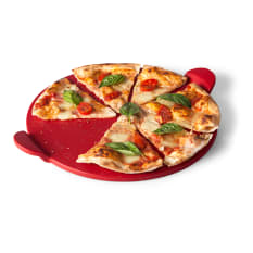 Yuppiechef Glazed Pizza Stone with Handles