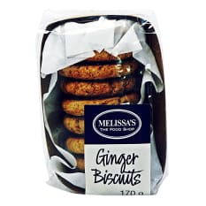 Melissa's Ginger Biscuits, 170g