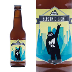 League of Beers Mad Giant Brewing Electric Light Weiss