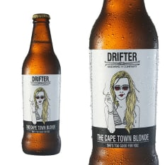 League of Beers Drifter Cape Town Blonde Ale