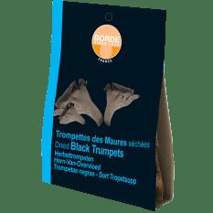 Borde Dried Black Trompettes Mushrooms