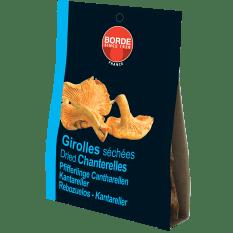 Borde Dried Chanterelle Mushrooms