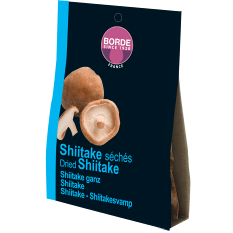 Borde Dried Whole Shiitake Mushrooms