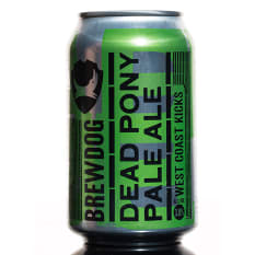 League of Beers BrewDog Dead Pony Club Pale Ale Cans