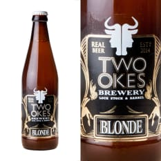 League of Beers Two Okes Brewery Blonde Ale