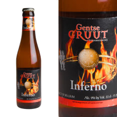 League of Beers Gentse Gruut Belgian Beer Inferno Belgian Ale