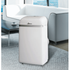 Alliance R410A Portable Air Conditioner with Remote Control, 12000BTU