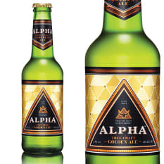League of Beers Alpha Golden Ale