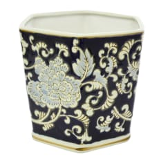 Sarah Jane Blue Floral Pot