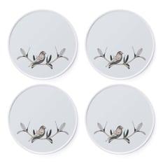Carrol Boyes Bird On A Twig Side Plates, Set of 4