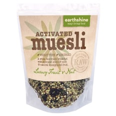 Earthshine Luxury Fruit & Nut Activated Buckwheat Muesli, 350g
