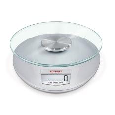 Soehnle Roma Silver Digital Kitchen Scale