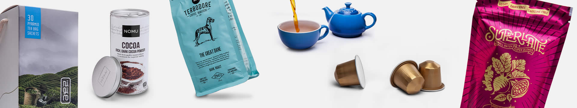 Banner image of Coffee, Tea & Beverages