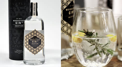 Woodstock Gin Co Inception Beer Distilled Gin