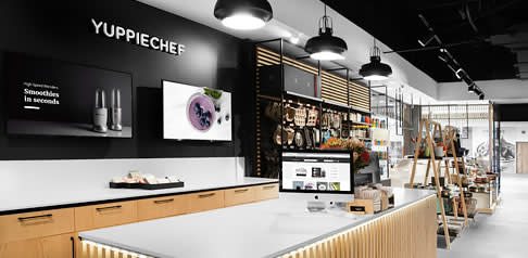 Interior of Yuppiechef Willowbridge Store