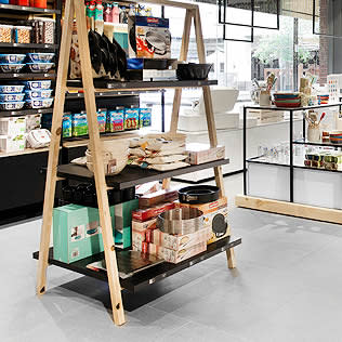 A-frame display table in Yuppiechef Store
