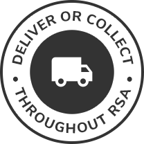 Deliver your order to your door or collect nationwide