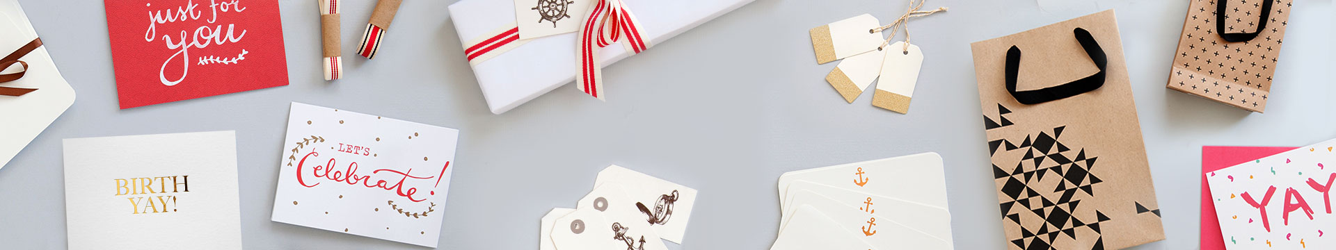 Banner image of Greeting cards and packaging